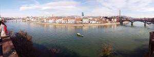 Basel Panorama Rhein